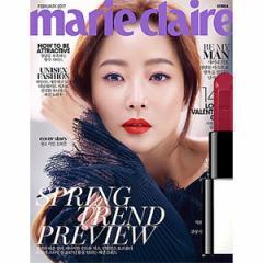 韓国女性雑誌 marie claire(マリ・クレール)2017年 2月号 (キム・ヒソン表紙/SHINeeのミンホ、ASTRO、チ・チャンウク記事)