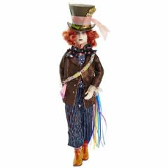 (先払いのみ)海外グッズ ディズニー 公式商品 「アリス・イン・ワンダーランド/時間の旅」 マッドハッター ドール 人形  Mad Hatter