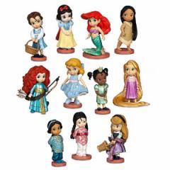 (先払いのみ)海外グッズ ディズニー 公式商品 ディズニー プリンセス フィギュア セット Disney Animators Collection