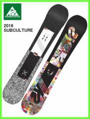 2016 K2 SUBCULTURE 153cmケーツースノーボード