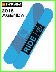 2016 RIDE AGENDA 152cm ライド スノーボード ローライズロッカー フリースタイルボード