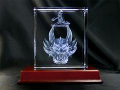 【送料無料】牙狼 10th ANNIVERSARY 特大3Dクリスタルアートブロック [ガロ] キャラクター グッズ ガロ GARO