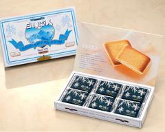 【送料無料】石屋製菓【白い恋人18枚入り】ホワイトチョコレートとラングドシャーで北海道の雪と恋いを表現/北海道限定/お取り寄せ