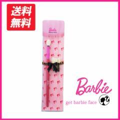 バービー アイシャドウチップ 替チップ 3個つき メイク用品 プレゼント ピンク 可愛い 美容 Barbie メイクブラシ コスメ