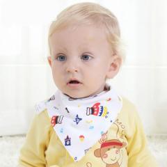 2枚以上送料無料 赤ちゃん用 かわいいハンカチスタイ! 可愛いリバーシブル♪ よだれかけ 新生児涎掛け