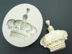 王冠 クラウン シリコンモールド アロマハイストーン 石粉 樹脂 粘土 UV レジン 石鹸 アクセサリー パーツ