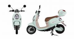 【電動バイクに乗ろう】電動バイク|電動スクーター|EV|yuppe2(ユッペ2)|ミントブルー|ツバメイータイム