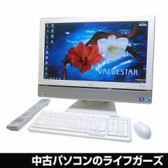 NEC 液晶一体型PC Windows7 64bit Corei5 650 RAM4GB HDD1TB 23型ワイド フルHD ブルーレイ 無線LAN 地デジ VW770/BS 中古PC 1259