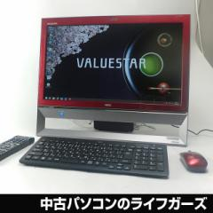 NEC 液晶一体型PC/Windows8.1/Celeron 2955U/メモリ4GB/HDD1000GB/DVDマルチ/21.5型ワイド/無線LAN/office付/VS370/RSR 中古PC 2342