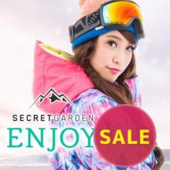 【SALE】送料無料【15-16 SECRET GARDEN ENJOY(エンジョイ)Type-A】レディース スノーボードウェア上下セット