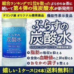 【送料無料】ぷらすの炭酸水 500mlPET×24本 [脂肪 糖 整腸] [機能性表示食品]【2〜3営業日以内に出荷】