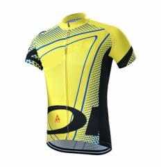 LZLサイクルジャージ上下セット/男性用自転車サイクルウェア半袖/春夏用サイクルジャージ普通タイプ ビブタイプ