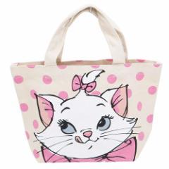 ◆おしゃれキャット マチ付きコットンバッグ/マリーアップ 【ディズニーアニメキャラ】】贈り物プレゼント
