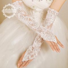 花嫁手袋 安い ウェディング手袋 結婚式 ウエディンググローブ  披露宴 ブライダルグローブ パーティーグローブ ショート 07