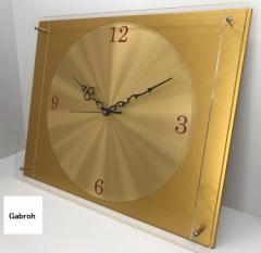 Gabroh アルミ製インテリア時計 ALUTOKI 旭光400
