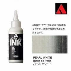【新商品 10%OFF!】ホルベイン HOLBEIN アクリリックインク 100ml AI961 パール ホワイト