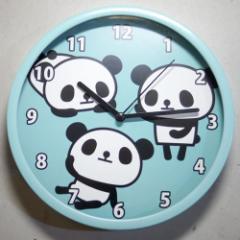 パンダ 壁掛け時計2A・乾電池付き 【JT011-J】