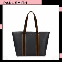 ポールスミス Paul Smith メンズ マルチカラーブロック トートバッグ (ブラック)