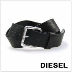 【セール 30%OFF!】DIESEL ディーゼル メンズレザーベルト B-STAMPP / X03972 P0396 ブラック