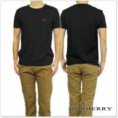 BURBERRY バーバリー メンズクルーネックTシャツ 3965066 ブラック /2017春夏新作