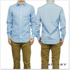 BURBERRY バーバリー メンズコットンポプリンシャツ 3991160 ペールブルー /2017春夏新作