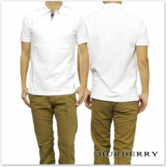 BURBERRY バーバリー メンズ半袖ポロシャツ 3955994 ホワイト /2017春夏新作