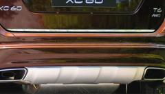 ボルボ xc60 リアゲート トランク リッド トリム クローム 送料無料