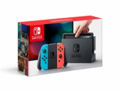 【新品・即納】 】Switch 本体 ニンテンドースイッチ Nintendo Switch Joy-Con(L) ネオンブルー/(R) ネオンレッド