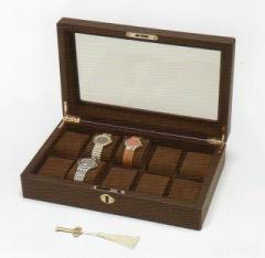 木製 ウォッチケース 10本用 コレクションケース 腕時計