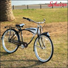 "SCHWINN 2017 シュウィン""CLASSIC DELUXE 7"" デラックス 26インチ ビーチクルーザー 自転車"