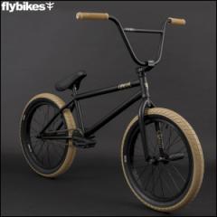 "BMX FLYBIKES フライバイクス 2017 ""OMEGA 21.0 RHD"" FLAT BLACK ストリート 自転車 20インチ"