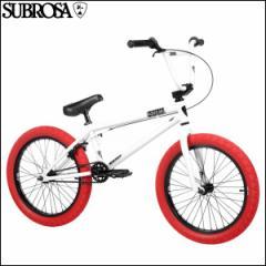 """BMX 2017 SUBROSA サブローザ """"ALTUS 20"""" ホワイト 20インチ 完成車"""