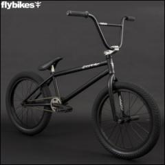 "BMX FLYBIKES フライバイクス 2017 ""ORION 21.0 RHD"" FLAT BLACK ストリート 自転車 20インチ"