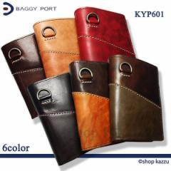 ★送料無料★ BAGGY PORT バギーポート 二つ折り財布 メンズ 牛革 キップレザー 大容量財布(6色)【KYP-601】