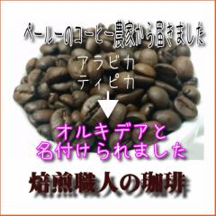 送料込メール便200g【秘境の手作りコーヒー オ・ル・キ・デ・ア】100gx2でお届け