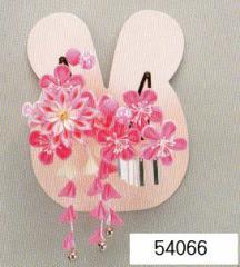 七五三 髪飾り 頭飾り (うさぎちゃんケース入)54066