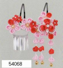 七五三 髪飾り 頭飾り (うさぎちゃんケース入)54068
