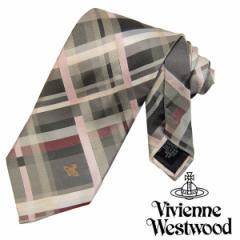 Vivienne Westwood ヴィヴィアンウエストウッド ネクタイ新柄 F447-0006 (652)