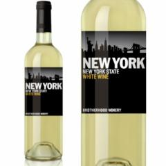 ブラザーフッド ニューヨーク ホワイト NV 750ml (Brotherhood New York 白ワイン アメリカ ニューヨーク 辛口)