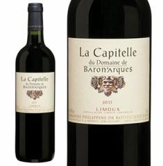 【おすすめ】ラ・キャピテール・デュ・ドメーヌ・ド・バロナーク 2011年 【赤ワイン/中重口/フランス】