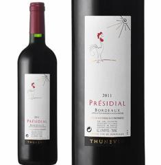 プレジディアル・テュヌヴァン ルージュ 2011年 750ml【赤ワイン/フランス/ボルドー/ヴァランドロー/中重口】