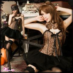 バニー アニマル サンタ 猫耳 猫 ネコ ハロウィン コスプレ コスチューム セクシー バニーガール 豹柄 仮装 女性 大人