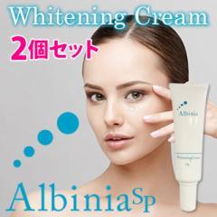 少量入荷☆即納2個セット数量限定 アルバニア SP ホワイトニングクリーム Albinia SP 〜Whitening Cream〜【医薬部外品】
