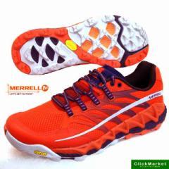 [送料無料]メレル MERRELL ALL OUT PEAK J03943 オールアウトピーク 橙 トレイルランニング