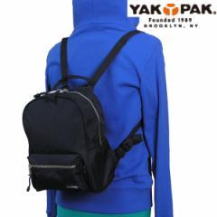 【送料無料】ヤックパック YAK PAK バッグ リュック ミニデイバッグ キッズ YP2020 BK
