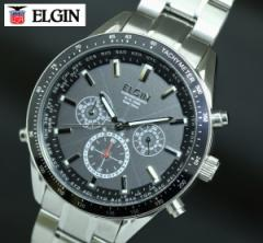 送料無料 エルジン ELGIN ワ−ルド5 世界4地域、5局対応電波受信機能 電波ソーラー 腕時計 FK1412S-BP