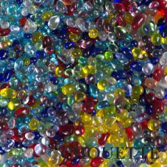 ハンドメイド 手芸 パーツ 材料 ガラス粒 2〜5mm 約30g pt-151015-5
