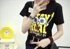 【送料無料】激安 大人気 Tシャツ 可愛い tシャツ レディース 半袖 カジュアル ゆったり トップス