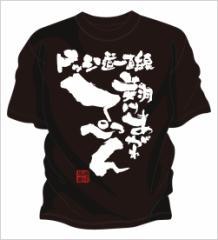 ドッジボールオリジナルtシャツ ! チームtシャツ ドッジボール や ドッジボール チームtシャツ  「翔けあがれ」