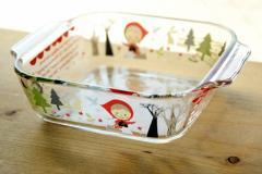 Shinzi Katoh トースター皿 precious red hood